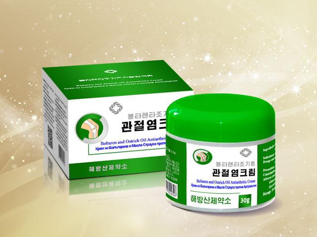 Boltaren and Ostrich Oil Antiarthritic Cream