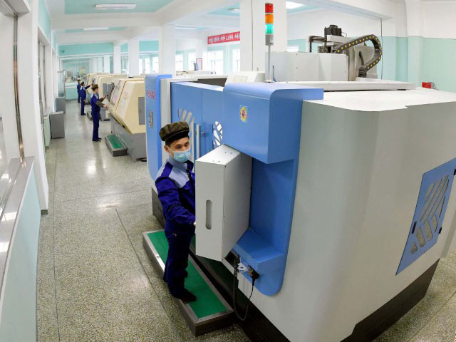 Reconstructed and modernized Pyongyang Electronic Medical Appliances Factory was inaugurated