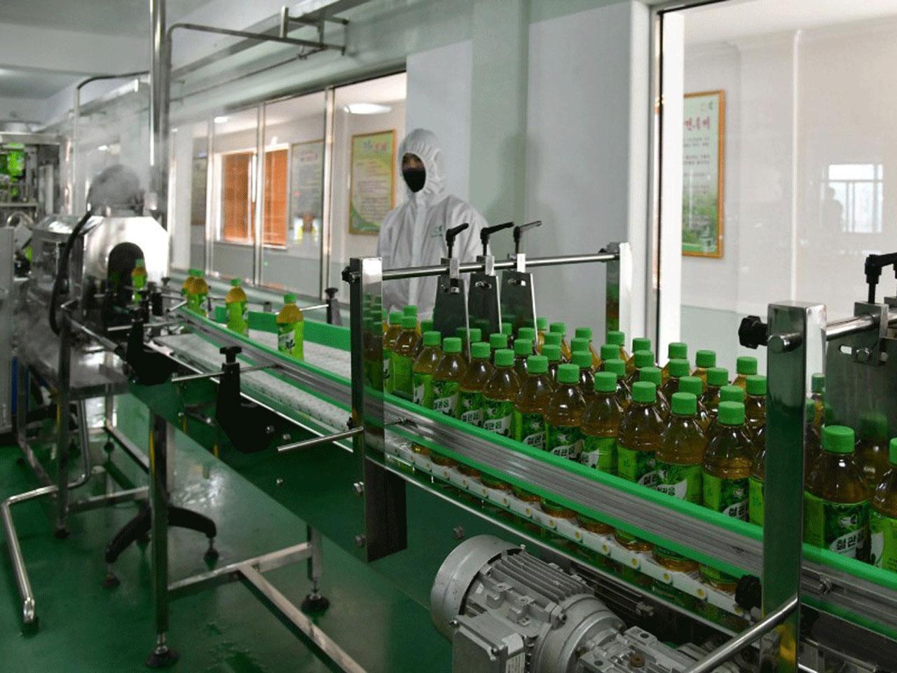 Newly-built tea drink production base