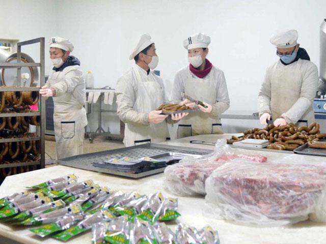 Comprehensive ostrich production base